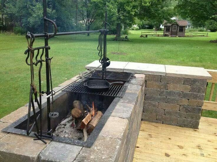 Huston Contracting Inc. & open-flame-outdoor-kitchens - Huston Contracting