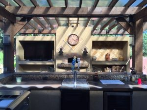 olathe outdoor kitchen