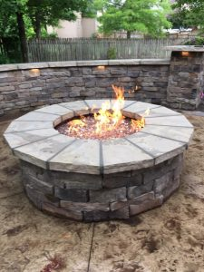 outdoor fireplace olathe